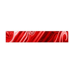 Red Abstract Swirling Pattern Background Wallpaper Flano Scarf (mini) by Simbadda