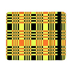 Yellow Orange And Black Background Plaid Like Background Of Halloween Colors Orange Yellow And Black Samsung Galaxy Tab Pro 8 4  Flip Case