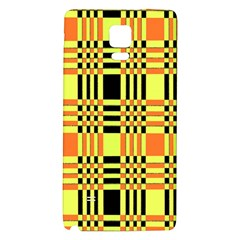 Yellow Orange And Black Background Plaid Like Background Of Halloween Colors Orange Yellow And Black Galaxy Note 4 Back Case
