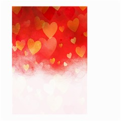 Abstract Love Heart Design Small Garden Flag (two Sides) by Simbadda