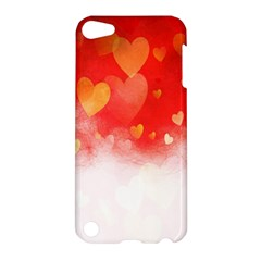 Abstract Love Heart Design Apple Ipod Touch 5 Hardshell Case by Simbadda