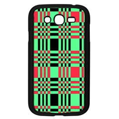 Bright Christmas Abstract Background Christmas Colors Of Red Green And Black Make Up This Abstract Samsung Galaxy Grand Duos I9082 Case (black)