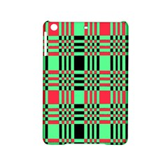 Bright Christmas Abstract Background Christmas Colors Of Red Green And Black Make Up This Abstract Ipad Mini 2 Hardshell Cases by Simbadda