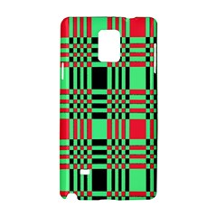 Bright Christmas Abstract Background Christmas Colors Of Red Green And Black Make Up This Abstract Samsung Galaxy Note 4 Hardshell Case