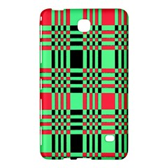 Bright Christmas Abstract Background Christmas Colors Of Red Green And Black Make Up This Abstract Samsung Galaxy Tab 4 (7 ) Hardshell Case