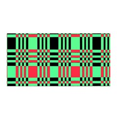 Bright Christmas Abstract Background Christmas Colors Of Red Green And Black Make Up This Abstract Satin Wrap