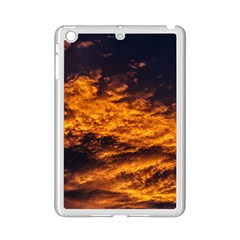 Abstract Orange Black Sunset Clouds Ipad Mini 2 Enamel Coated Cases by Simbadda