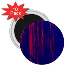 Abstract Color Red Blue 2 25  Magnets (10 Pack)  by Simbadda
