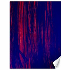Abstract Color Red Blue Canvas 36  X 48   by Simbadda