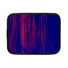 Abstract Color Red Blue Netbook Case (small)  by Simbadda