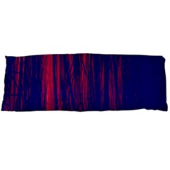 Abstract Color Red Blue Body Pillow Case (dakimakura)