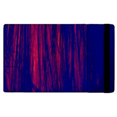 Abstract Color Red Blue Apple Ipad 3/4 Flip Case by Simbadda