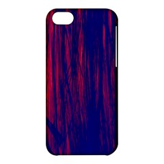 Abstract Color Red Blue Apple Iphone 5c Hardshell Case