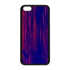Abstract Color Red Blue Apple Iphone 5c Seamless Case (black) by Simbadda