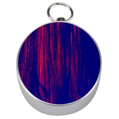 Abstract Color Red Blue Silver Compasses
