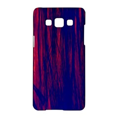 Abstract Color Red Blue Samsung Galaxy A5 Hardshell Case  by Simbadda