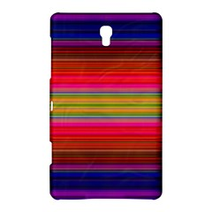 Fiesta Stripe Bright Colorful Neon Stripes Cinco De Mayo Background Samsung Galaxy Tab S (8 4 ) Hardshell Case