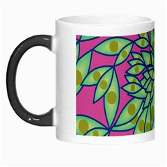 Big Growth Abstract Floral Texture Morph Mugs by Simbadda