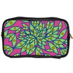 Big Growth Abstract Floral Texture Toiletries Bags 2-Side Front