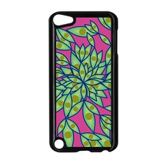 Big Growth Abstract Floral Texture Apple Ipod Touch 5 Case (black) by Simbadda