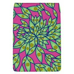 Big Growth Abstract Floral Texture Flap Covers (s)