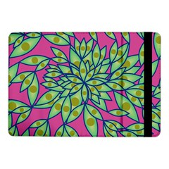 Big Growth Abstract Floral Texture Samsung Galaxy Tab Pro 10 1  Flip Case by Simbadda