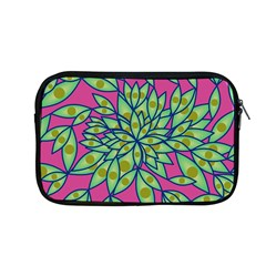 Big Growth Abstract Floral Texture Apple Macbook Pro 13  Zipper Case