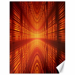 Abstract Wallpaper With Glowing Light Canvas 18  X 24   by Simbadda