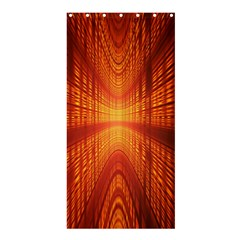 Abstract Wallpaper With Glowing Light Shower Curtain 36  X 72  (stall)  by Simbadda
