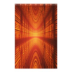 Abstract Wallpaper With Glowing Light Shower Curtain 48  X 72  (small)  by Simbadda