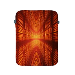 Abstract Wallpaper With Glowing Light Apple Ipad 2/3/4 Protective Soft Cases