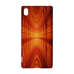 Abstract Wallpaper With Glowing Light Sony Xperia Z3+ by Simbadda