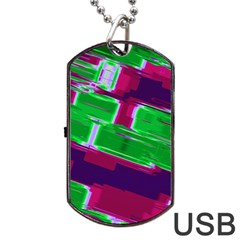 Background Wallpaper Texture Dog Tag Usb Flash (two Sides)