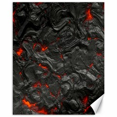 Volcanic Lava Background Effect Canvas 11  X 14