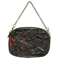 Volcanic Lava Background Effect Chain Purses (one Side)
