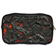 Volcanic Lava Background Effect Toiletries Bags 2 Side by Simbadda