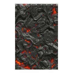 Volcanic Lava Background Effect Shower Curtain 48  X 72  (small)  by Simbadda