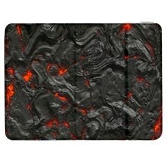 Volcanic Lava Background Effect Samsung Galaxy Tab 7  P1000 Flip Case by Simbadda