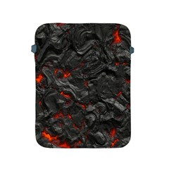 Volcanic Lava Background Effect Apple Ipad 2/3/4 Protective Soft Cases