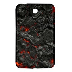 Volcanic Lava Background Effect Samsung Galaxy Tab 3 (7 ) P3200 Hardshell Case  by Simbadda