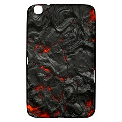 Volcanic Lava Background Effect Samsung Galaxy Tab 3 (8 ) T3100 Hardshell Case  by Simbadda