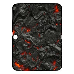 Volcanic Lava Background Effect Samsung Galaxy Tab 3 (10 1 ) P5200 Hardshell Case