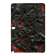 Volcanic Lava Background Effect Samsung Galaxy Tab Pro 12 2 Hardshell Case by Simbadda