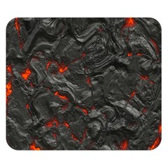 Volcanic Lava Background Effect Double Sided Flano Blanket (small)  by Simbadda