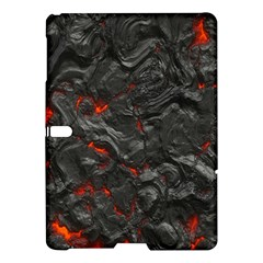 Volcanic Lava Background Effect Samsung Galaxy Tab S (10 5 ) Hardshell Case  by Simbadda