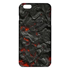 Volcanic Lava Background Effect Iphone 6 Plus/6s Plus Tpu Case by Simbadda