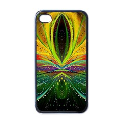 Future Abstract Desktop Wallpaper Apple Iphone 4 Case (black) by Simbadda