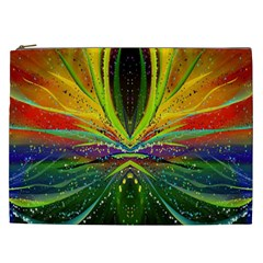 Future Abstract Desktop Wallpaper Cosmetic Bag (xxl)  by Simbadda