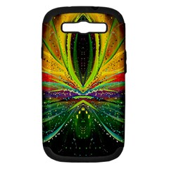 Future Abstract Desktop Wallpaper Samsung Galaxy S Iii Hardshell Case (pc+silicone) by Simbadda