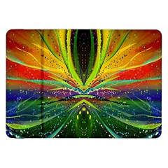 Future Abstract Desktop Wallpaper Samsung Galaxy Tab 8 9  P7300 Flip Case by Simbadda
